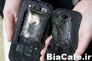 علت انفجار گوشی های هوشمند